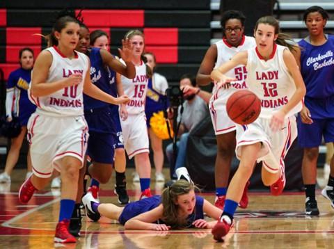 Montgomery Central Girls Basketball defeat Clarksville Academy (Michael Rios-Clarksville Sports Network)