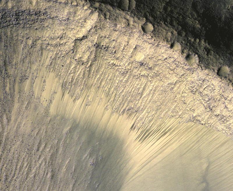 NASA's Mars Reconnaissance Orbiter shows seasonally ...