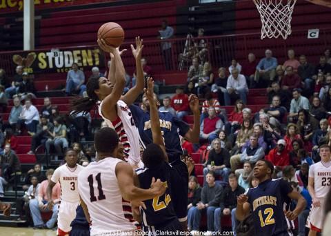Rossview Boys Basketball beats Northeast.