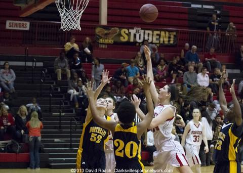 Rossview Girls Basketball defeats Northeast.