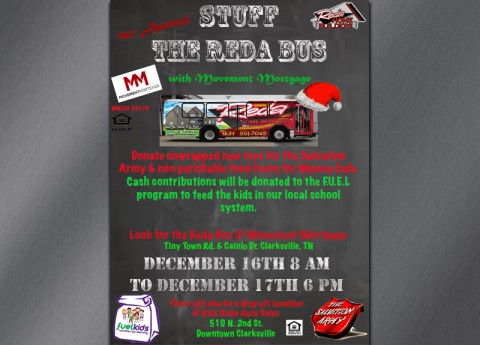 Stuff the Reda Bus