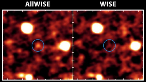 The new AllWISE catalog will bring distant galaxies that were once invisible out of hiding, as illustrated in this image.