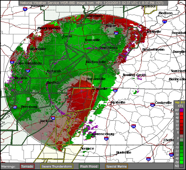 National Weather Service Has Issued Tornado Warning For Montgomery - National weather map in motion