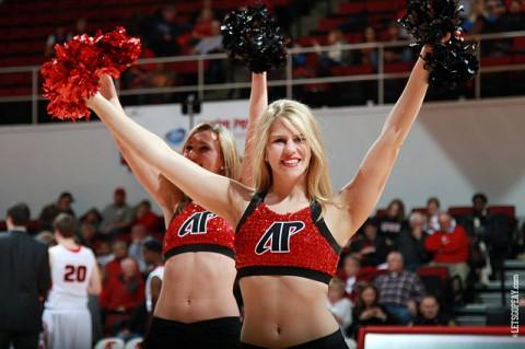 APSU Dance Team announces tryout dates. (Brittney Sparn/APSU Sports Information)