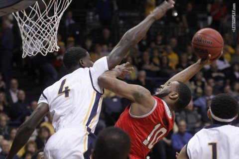 Austin Peay Men's Basketball falls to Murray State. (APSU Sports Information)