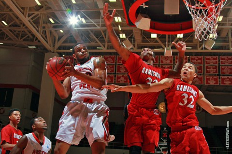 Austin Peay men's basketball take on Tennessee Tech Saturday night in Clarksville at the Dunn Center. (Brittney Sparn/APSU Sports Information)