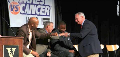 APSU participates in Coaches vs Cancer weekend. (APSU Sports)