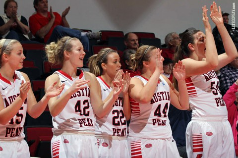 Austin Peay takes its first two-game win streak since 2011-12 into Monday's road-trip ending affair at SIUE. (Brittney Sparn/APSU Sports Information)