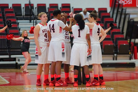 Austin Peay Women's Basketball returns to the Dunn Center for the first time since January 30th, looking to complete a season sweep of SIU Edwardsville. (Michael Rios Clarksville Sports Network)