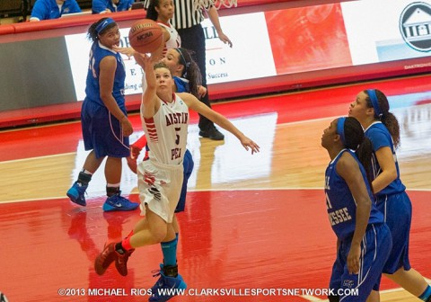 Austin Peay Women's Basketball look to continue win streak Monday.