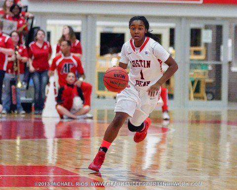Austin Peay Women's Basketball falls to Jacksonville State 69-65.