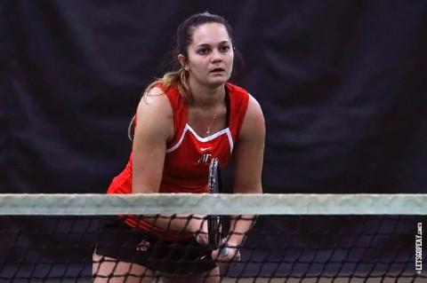 Austin Peay Women's Tennis. (Brittney Sparn/APSU Sports Information)