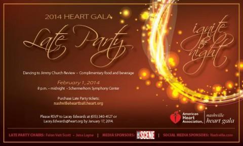 American Heart Association Heart Gala Late Party