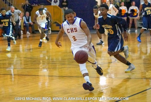 Clarksville High Boy's Basketball win double overtime thriller over Northeast.