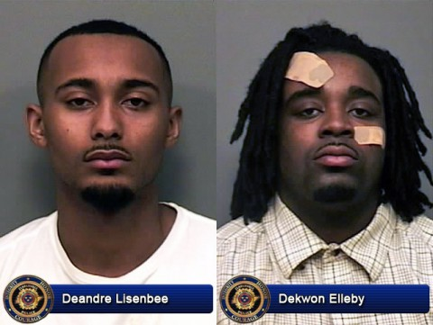 Deandre Lisenbee and Dekwon Elleby arrested in January 10th shooting.