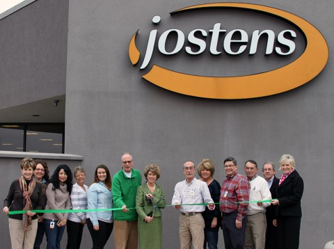 Jostons Green Ribbon Cutting Ceremony.