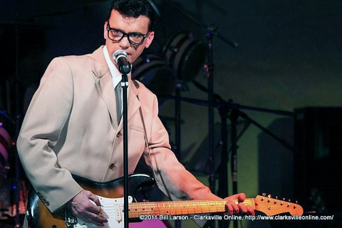 Kenny James returns as Buddy Holly at this year's Legends of Clarksvegas.