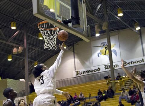 Kenwood Boys Basketball defeats Northeast. (Clarksville Sports Network)