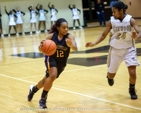 Kenwood girl's basketball wins overtime thriller against Clarksville High. (Michael Rios Clarksville Sports Network)