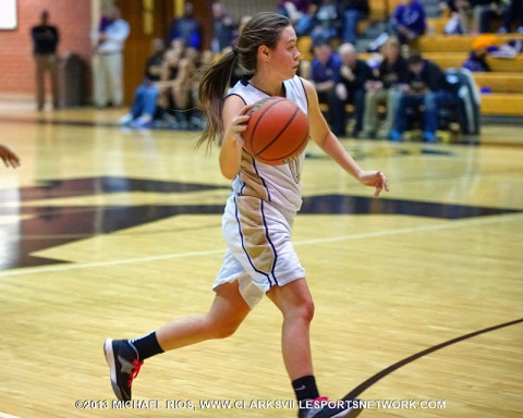 Kenwood Girl's Basketball defeats Springfield in rout.