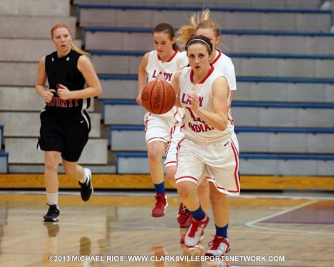 Montgomery Central Girl's Basketball falls to Stewart County.