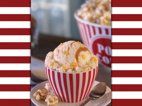 Baskin-Robbins January Flavor Of The Month: Movie Theater Popcorn.