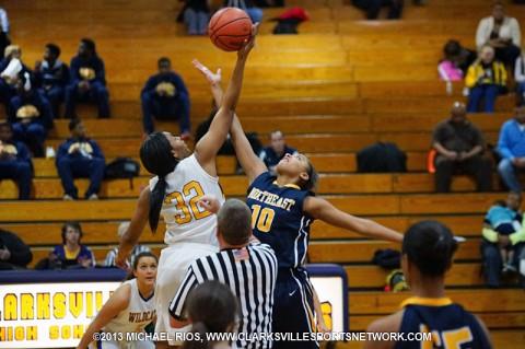 Northeast Girl's Basketball gets 42-34 win over Clarksville High.