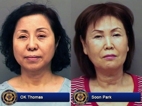 OK Thomas and Soon Park arrested.