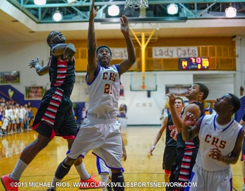Rossview Boys Basketball defeats Clarksville High School.