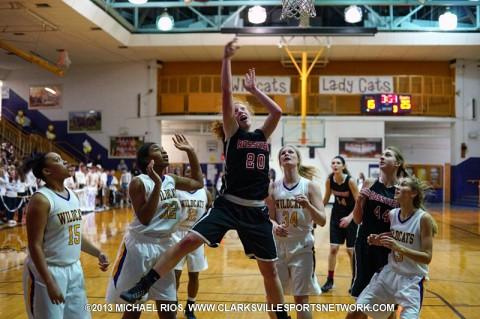 Rossview Girls Basketball defeats Clarksville High School.
