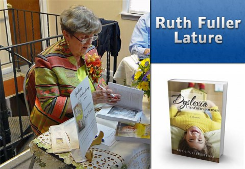 "APSU Alumna Ruth Fuller Lature author of ""Dyslexia: A Teacher's Journey"""