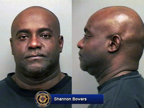 Shannon Bowers arrested for aggravated robbery Wednesday, January 22nd, 2014.