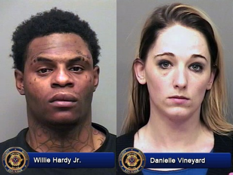 Willie Hardy Jr. and Danielle Vineyard