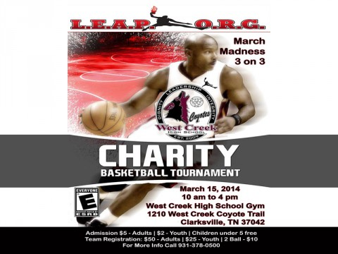 2014 LEAP Charity Basketball Tournament