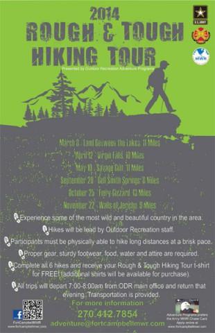 2014 Rough & Tough Hiking Tour
