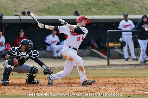 Austin Peay Men's Baseball plays Southern Illinois Tuesday at Raymond C. Hand Park.