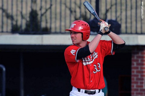 Austin Peay Senior Matt Wollenzin brings a four-game hit streak into this weekend's Riverview Inn Classic. (Brittney Sparn/APSU Sports Information)