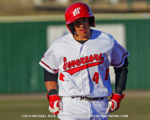 APSU Third baseman Garrett Copeland had a home run and three RBI as part of a 2-for-4 outing against Dayton, Friday.