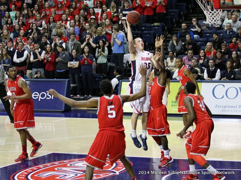 Belmont downs Austin Peay 93-68 in Nashville. (Mateen Sidiq Clarksville Sports Network)