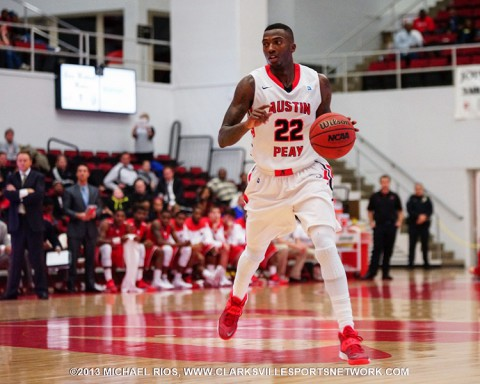 Austin Peay Governors fall to Eastern Kentucky in OVC basketball. (Michael Rios Clarksville Sports Network)