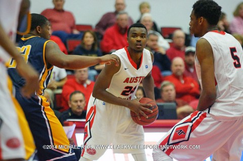 APSU Men's Basketball falls to SEMO 83-80 OVC hopes fade. (Michael Rios-Clarksville Sports Network)