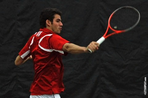 Austin Peay Men's Tennis. (Brittney Sparn/APSU Sports)