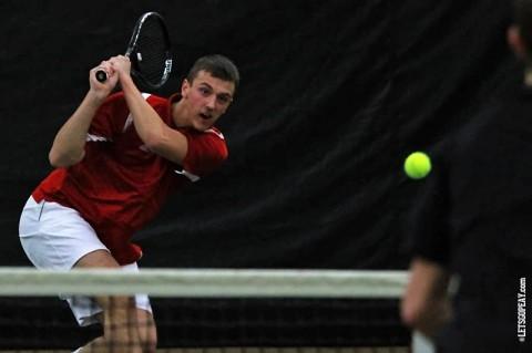 Austin Peay Men's Tennis. (Brittney Sparn/APSU Sports Information)