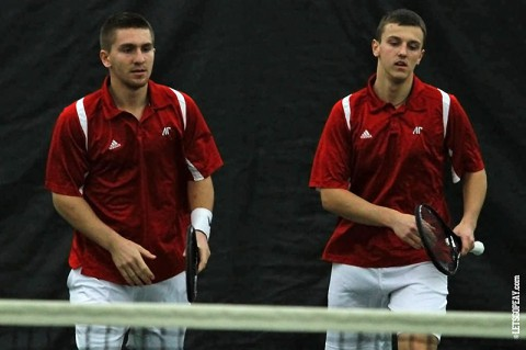 Austin Peay Men's Tennis. (Brittney Sparn/APSU Sports Information)