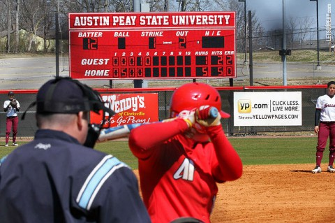Austin Peay Lady Govs Softball. (APSU Sports Information)