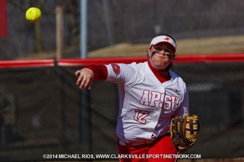 Austin Peay Softball senior Kayla Davidson.