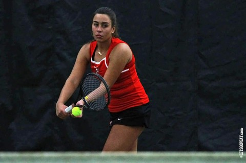 Austin Peay Women's Tennis has two matches this weekend. (Brittney Sparn/APSU Sports Information)