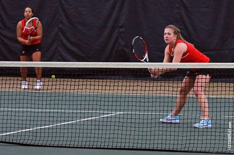 Austin Peay Women's Tennis. (Brittney Sparn/APSU Sports)