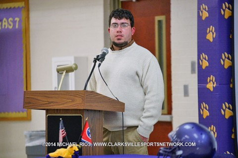 Clarksville High School announces Isaac Shelby new football coach.