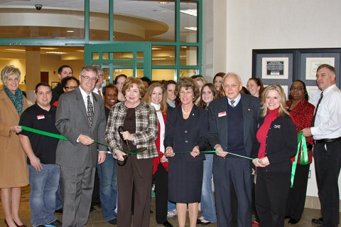 Green Ribbon Cutting Ceremony for Fort Campbell Federal Credit Union.